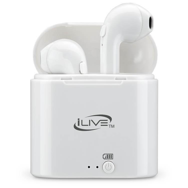 176698cee94 iLive IAEBT209W Wireless Bluetooth Earbuds - White