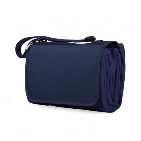Picnic Time Blanket Tote - Navy