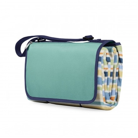 Picnic Time Blanket Tote - St. Tropez Stripes