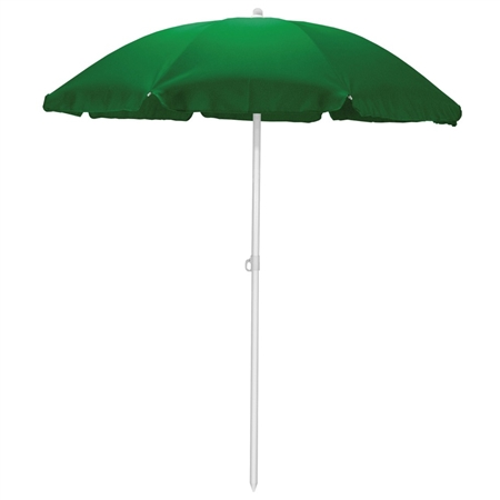 Picnic Time 5.5' Portable Beach/Picnic Umbrella - Hunter Green