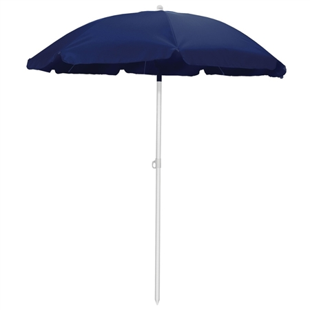 Picnic Time 5.5' Portable Beach/Picnic Umbrella - Navy
