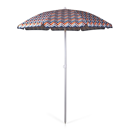 Picnic Time 5.5' Portable Beach/Picnic Umbrella - Vibe Collection