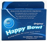 Happy Bowl HB-1212 RV Toilet Liners