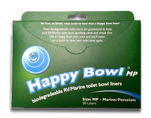 Happy Bowl HB1212-MP Toilet Bowl Liners