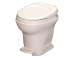 Thetford 31671 White Aqua-Magic V Foot Flush High Profile RV Toilet