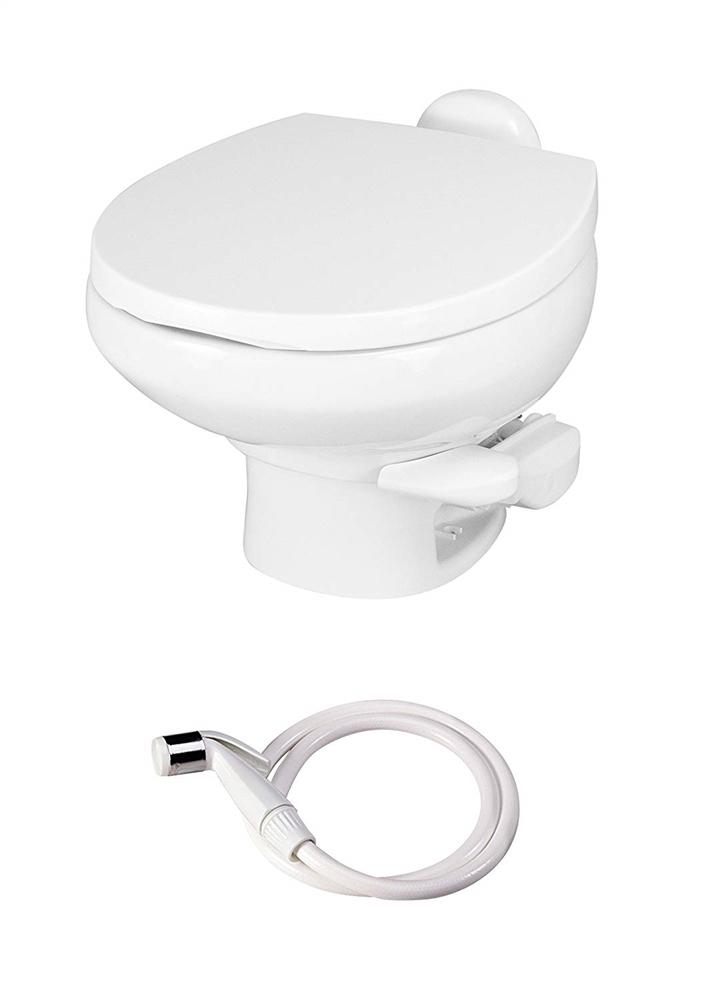 Thetford 42061 Aqua Magic Style Ii Rv Toilet Low Profile With Sprayer