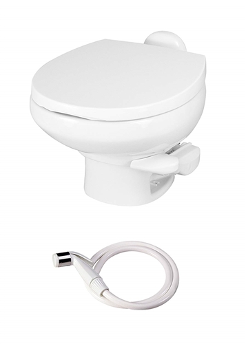 Thetford 42061 Low Profile Style II China Toilet White With Water Saver