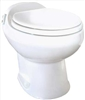 Thetford 19771 Aria Deluxe II Low Profile RV Toilet - White