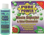 Valterra V22017 Pure Power Waste Digester And Odor Eliminator - 4 Oz - 6 Pack