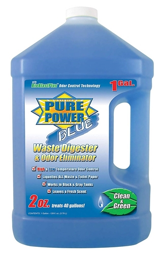 OP Products 23128 128 oz. Pure Power Blue Waste Digester