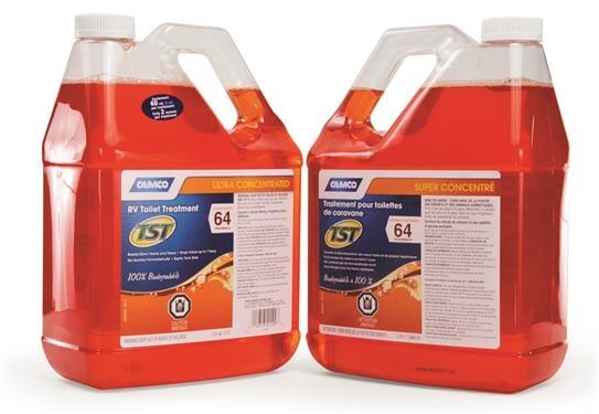 Camco 41199 Tst Orange Power Toilet Treatment 1 Gallon