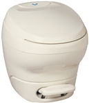 Thetford 31119 Bravura Toilet Low Profile Without Water Saver - Parchment
