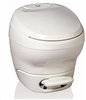 Thetford 31084 White High Profile Bravura RV Toilet Without Water Saver Sprayer