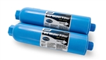 Camco 40045 TastePURE KDF/Carbon Water Filter With Hose Protector - 2 Pack