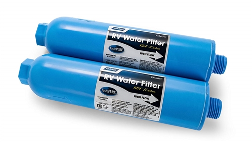 Camco 40045 TastePURE KDF/Carbon Water Filter - 2 Pack