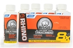 Camco 41511 Rhino RV Premium Enzyme Holding Tank Treatment - 4 Oz - 8 Pack