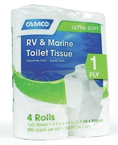 Camco 40276 TST 1 Ply Toilet Tissue