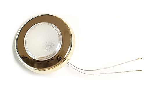 FriLight Ringo LED Ceiling Light With Gold Trim - 197 Lumens - Warm White