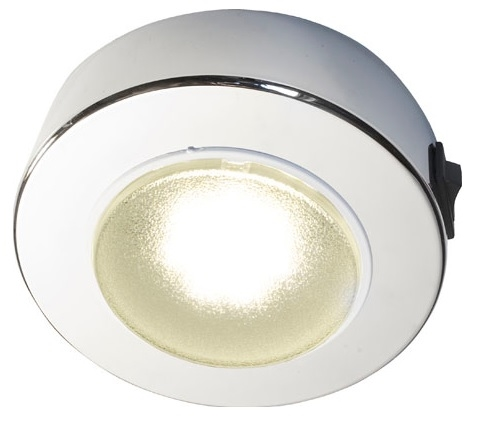 FriLight Sun LED Ceiling Light With White Trim & Switch - 310 Lumens - Cool White