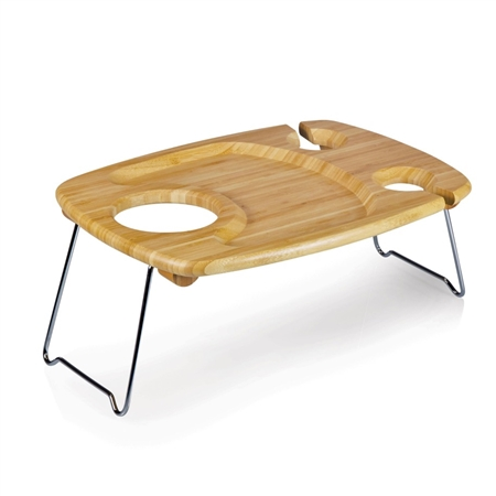 Picnic Time Mesavino Portable Concert Table - Rubberwood
