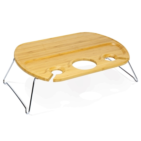 Picnic Time Mesamio Portable Concert Table - Rubberwood