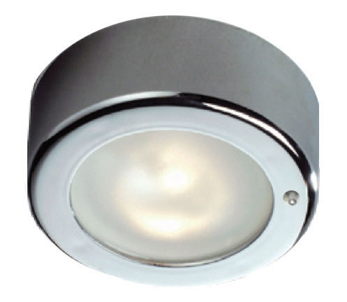 FriLight Star Halogen Ceiling Light With Switch - 10W Xenon Bulb With Chrome Trim