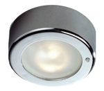 FriLight Star LED Ceiling Light With Chrome Trim & Switch - Red