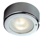 FriLight Star LED Ceiling Light With Chrome Trim & Switch - 187 Lumens - Warm White