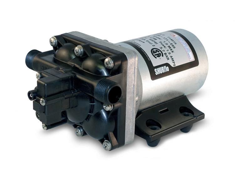 SHURFLO Revolution 4008 12V Fresh Water Pump 2-YEAR WARRANTY 3GPM Demand E65