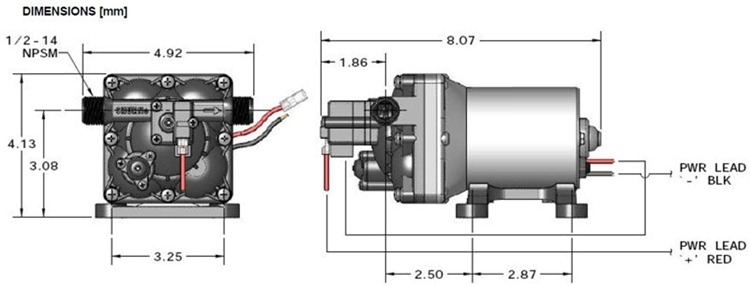 rv water pump wiring wiring diagramshurflo 4008 171 e65 revolution water pump 3 0 gpm 115 vac rv water pump wiring