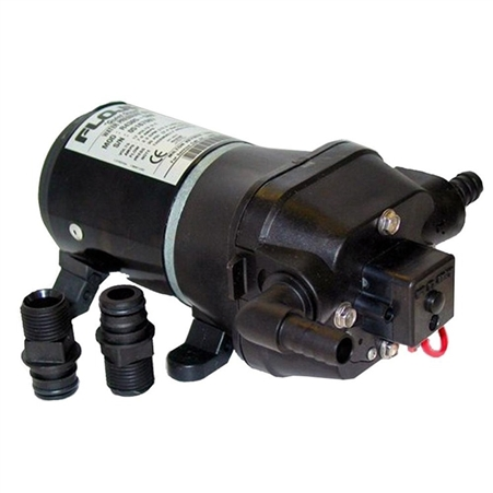 FloJet 04406043A Quad II 3.3 GPM RV Water Pump - 115 VAC