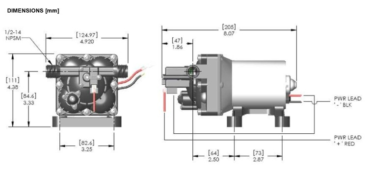 Shurflo Water Pump >> Shurflo 4008 101 E65 Revolution 3 0 Gpm Rv Water Pump