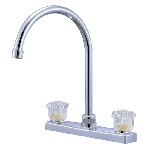 Relaqua High Arch Faucet, Chrome Finish