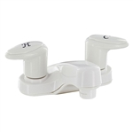 Catalina R4077-1 Two Handle RV Lavatory Faucet - White