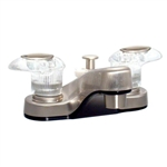 Catalina PF222441 RV Lavatory Faucet With Diverter, Brushed Nickel