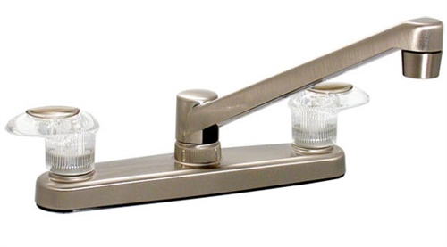 Catalina R5063-i Two Handle Kitchen Faucet, Brushed Nickel