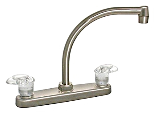 Catalina PF221402 Two Handle Hi-Arc Kitchen Pot Filler, Brushed Nickel