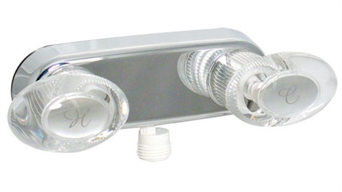 Phoenix PF223341 Two Handle RV Shower Valve, Chrome