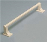 "Magic Mounts 4566A 18"" Almond Towel Bar"