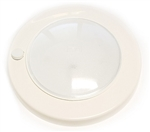 FriLight Saturn LED Light With White Trim & Switch - Blue