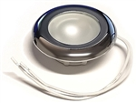 FriLight Nova LED Ceiling Light With Chrome Trim - Blue
