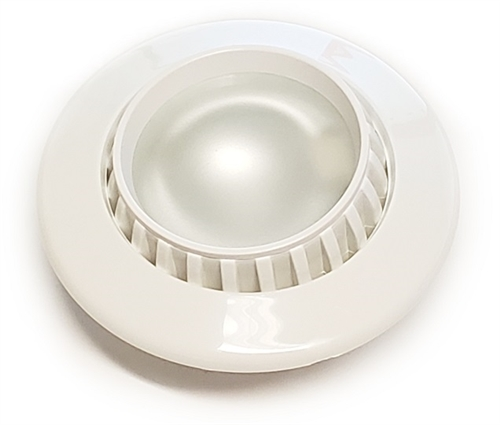 FriLight Comet 3-Way Dimmable LED Adjustable Light With White Trim & Switch - Warm White