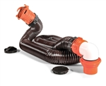 Camco 39761 RhinoFLEX RV Sewer Hose Kit - 15'