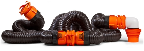 RhinoFlex 20' Sewer Hose Kit