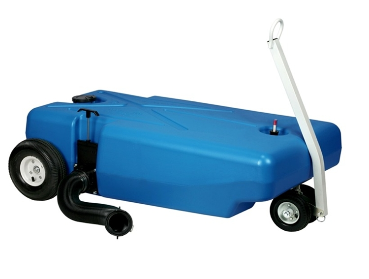 Barker 27844 32 Gallon Tote Along Portable Holding Tank