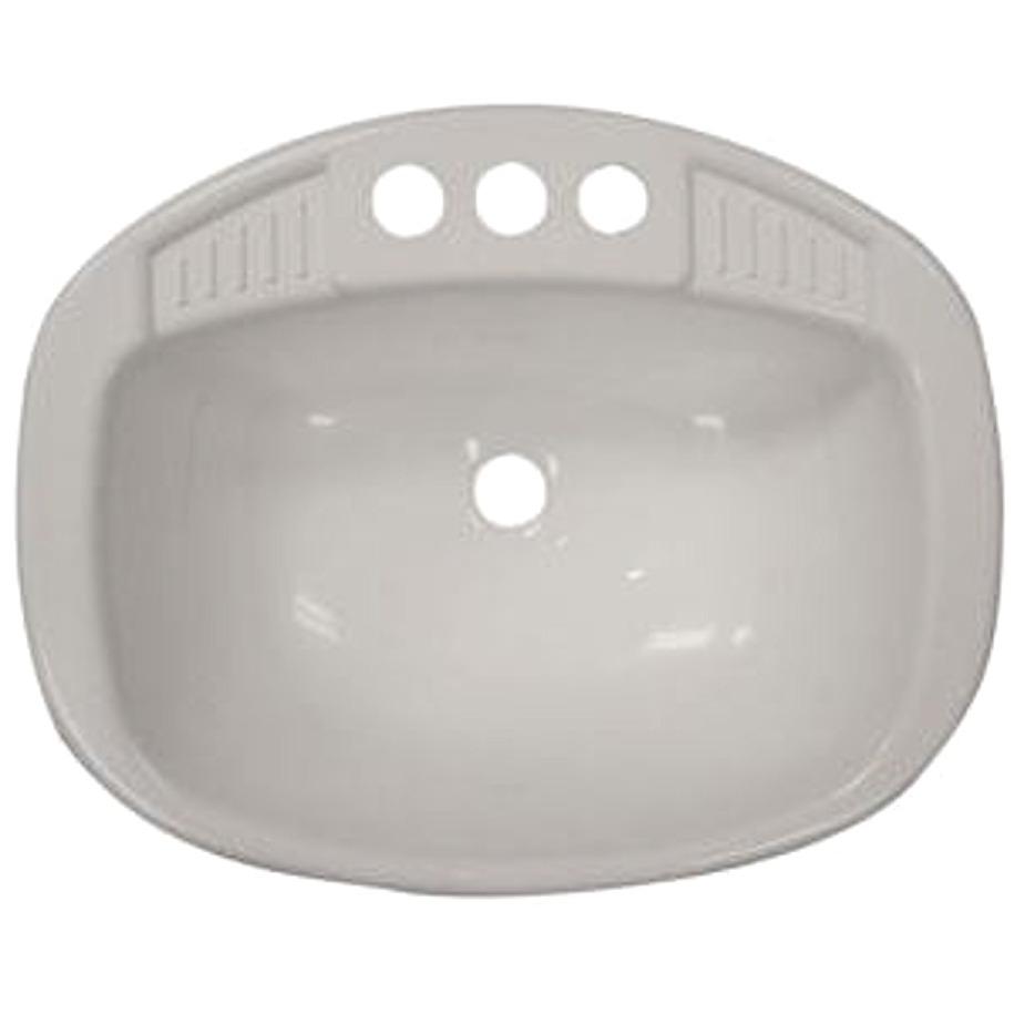 LaSalle Bristol 16270PW Lavatory Sink - White - 16