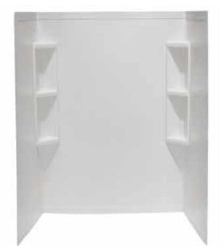 Lyons Dwcs013662 36 X 62 Tub Shower Surround White