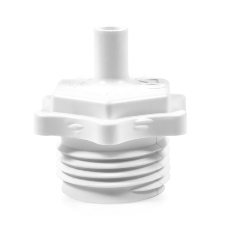 Camco 36104 Blow-Out Plug With Schrader Valve - Plastic