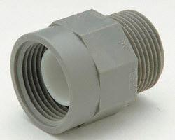 "Zurn Pex QC43TF Fitting Adapter, 3/4""MPT x 1/2"" FPT"