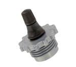 Valterra P23508VP Blow-Out Plug With Schrader Valve - Plastic